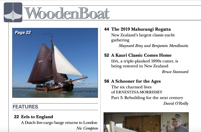 Wooden Boat jan/feb 2020